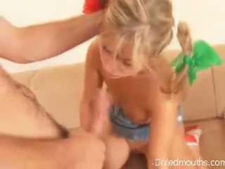 blow job, vollbusige blondine katya, blowjob