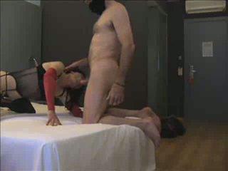 sesanje, ass fucking, crossdresser
