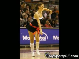 Giętkie nastolatka cheerleaderka gfs!