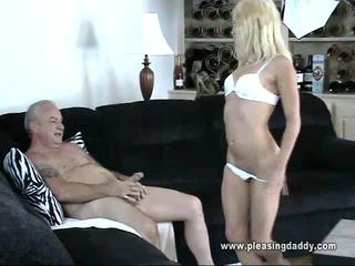 hardcore sex, výstřik, young slut fucks father