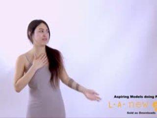 Supermodel 屁股 性交 在 面試 鑄件