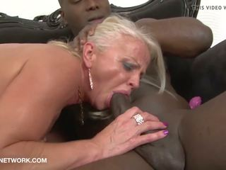 Mature Drilled by Black Guys in Hardcore Interracial.