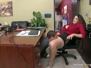 stor, bröst, cock
