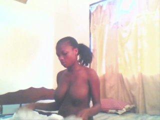 East африканська дівчина aisha getting трахкав по її boyfriend
