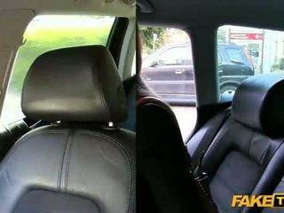 Echt amateur pounded met de cab driver