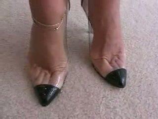 ψηλά τακούνια, foot fetish, footjob