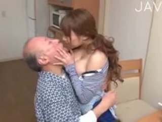 日本, 大胸部, 老+年輕