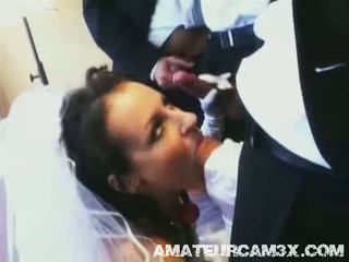 Hardsex for hot bride