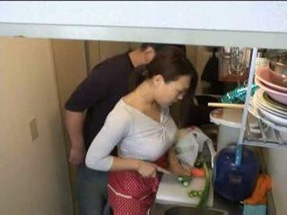 家庭主妇, 厨房, xvideos