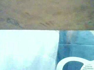 Girl Caught Masturbating Under Table At Cyber