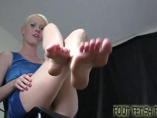foot fetish, femdom, pov