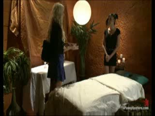 Blonde wants to try sex with a shemale
