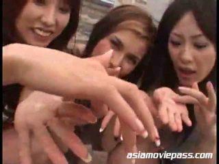 Asian Girls Swallowing