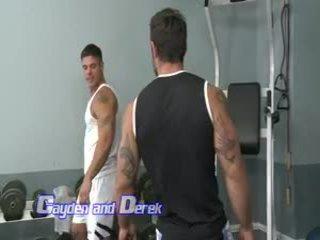 brunete, amatieri, muskulis