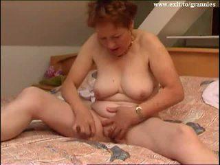 brunetă, masturbeaza, vechi