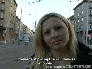 czech, public place sex, amateur