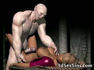 Frightening zombi fucks 3d jana!