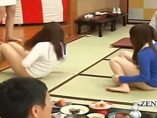 Subtitled bottomless japonez embarrassing grup joc