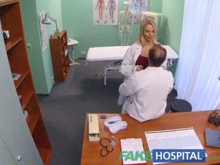 Fakehospital new şepagat uýasy takes double sperma from künti doktor
