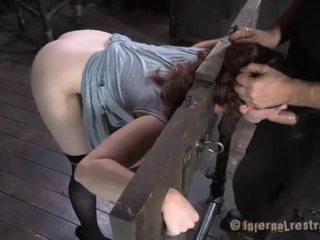 Sklave gets vicious drilling
