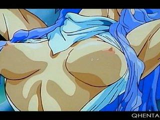 Tied omhoog hentai schattig princes taking monster lul in poesje