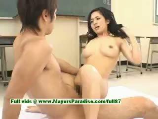 Sora aoi ร้อน หญิง เซ็กซี่ ญี่ปุ่น นักเรียน gets a ยาก ร่วมเพศ