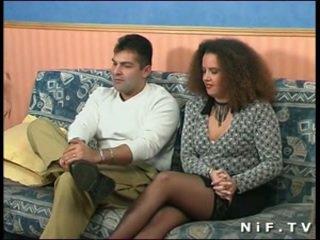 Franceze amatore çift doing anale seks në front i na