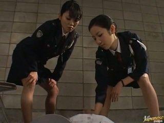 Japanska av modell i den void urine handling