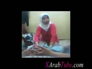 Hijab kuk massagen
