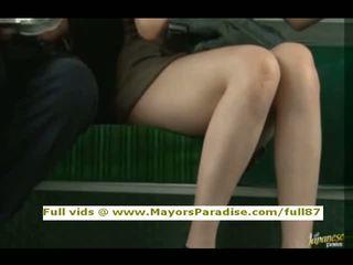 Rio innocent chinees meisje is geneukt op de bus