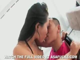 אסייתי asa akira fucks!