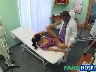 Caliente adela gets doctors grande polla therapy