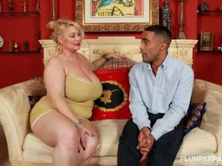 Bbw superstar samantha 38g fucks rallig schwarz fan