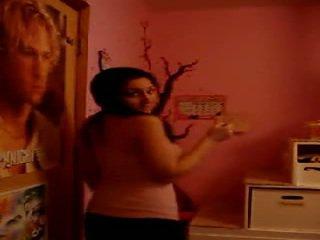 Arab nastolatka stripping