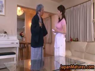 Erena tachibana japanska äldre kvinna part5
