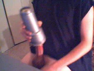 Rokovanje ebenovinaste shirt sperma sperma shot stimulating