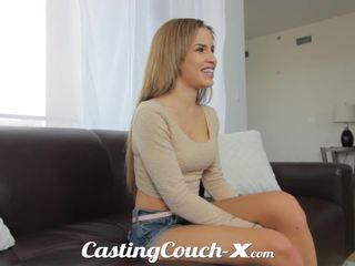 Kastings couch-x eksotiskas cali meitene nervous līdz do porno