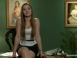 Superb dani daniels has constrained augšup un banged onto a tabula