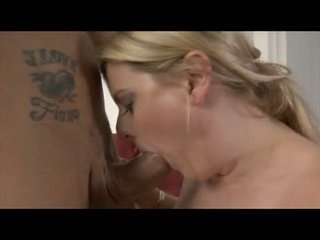Super Sexy Blonde Loves Cock And Jizz