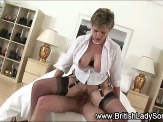 britânico, qualquer ejaculação, diversão maduro quente