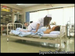 Hot Busty Japanese Nurse!