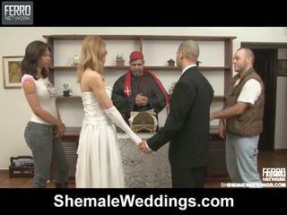 Alessandra tony shemale bröllop kön