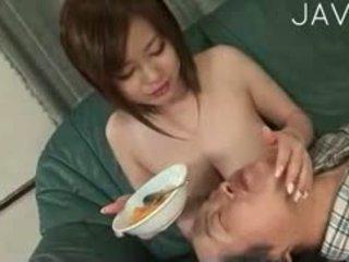 japonais, gros seins, fétiche