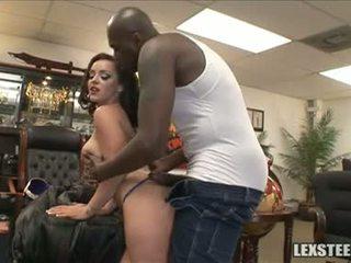 Lex steele ו - liza del sierra חלב sacks לשחק ב the משרד