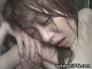 Akari hoshino ιαπωνικό έξω σκληρά