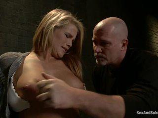 Immature blondin aiden aspen has humiliated