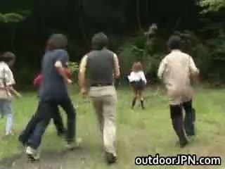 full japanese, all interracial fun, public
