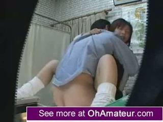 Amateur schoolgirl taken by the doctor pt 1