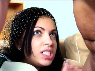 avsugning, ansikts, arab