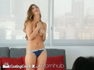brunette, young, oral sex